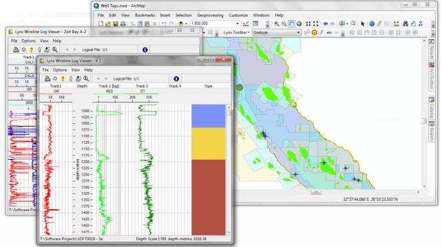 Lynx Seismap extension for ESRI ArcGIS Desktop - Lynx